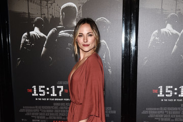Briana Evigan Premiere of Warner Bros. Pictures' 'The 15:17 to Paris' - Arrivals