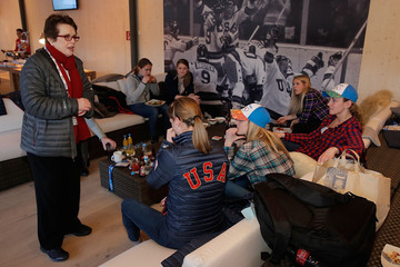 Brianne McLaughlin US Olympians Visit USA House
