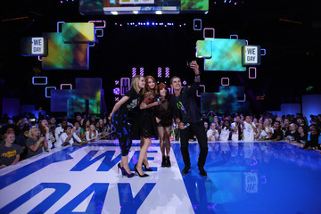 Bridgit Mendler Stars Hang Out at We Day Minnesota