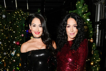 Brie Bella Z100's Jingle Ball 2018 - Backstage