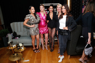 Brie Bella Sheree LaDove Funsch Beauty Moguls, Nikki, And Brie Bella Launch New Product Line During Fashion Week For Nicole And Brizee, N+B Body And Beauty Line
