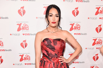 Brie Bella The American Heart Association's Go Red For Women Red Dress Collection 2019 Presented By Macy's - Arrivals & Front Row