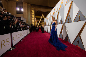 Brie Larsen 2016 Oscars Red Carpet - Photo Gallery
