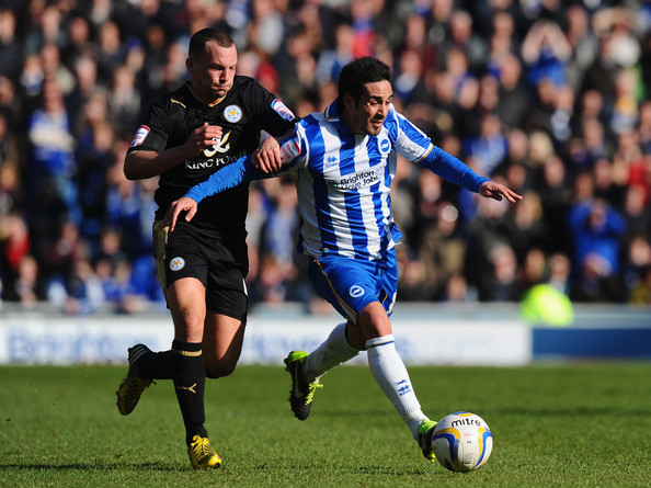 Brighton & Hove Albion v Leicester City - npower Championship - 1 of 4