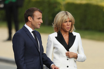 Brigitte Macron World Leaders Meet For NATO Summit In Brussels