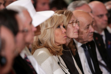 Brigitte Macron President Trump And French President Macron Hold Joint News Conference In East Room