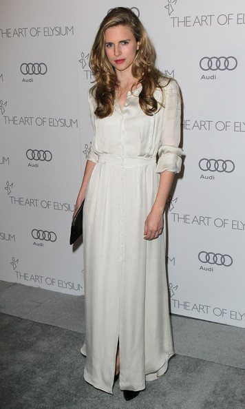 "Brit Marling - The Art Of Elysium's 6th Annual Black-tie Gala ""Heaven"" - Arrivals"