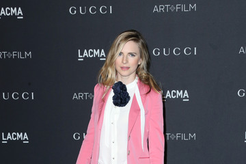 Brit Marling LACMA 2015 Art+Film Gala Honoring James Turrell and Alejandro G Inarritu, Presented by Gucci - Arrivals
