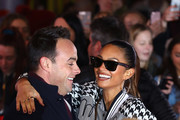 Ant McPartlin and Alesha Dixon arrive at the Britain's Got Talent 2019 auditions held at London Palladium on January 20, 2019 in London, England.