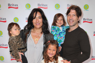 Alicia Coppola Esme Jones Britax And Baby Buggy Host Pre-Father's Day Mini Golf Open To Celebrate The Summer Launch Of The Britax Baby Carrier