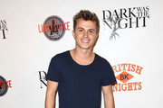 Actor Kenny Wormald attends the LA premiere party for 'Dark Was The Night' hosted by British Knights at Lucky Strike Bowling Alley on October 16, 2014 in Hollywood, California.