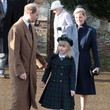 Lady Louise British Royals Attend Christmas Day Service At Sandringham