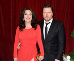 Actors Debbie Rush and Ian Puleston Davies attend The 2012 British Soap Awards at ITV Studios on April 28, 2012 in London, England.