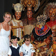 Kissy Simmons Britney Spears, Sean Preston, And Jayden James Attend Disney's THE LION KING At Mandalay Bay