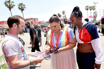 Britney Young Netflix Original Series 'GLOW' '80s Takeover Of Muscle Beach