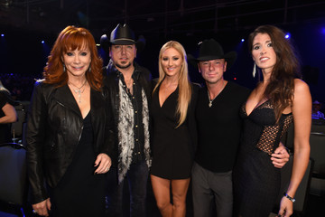 Brittany Kerr Backstage at the American Country Countdown Awards