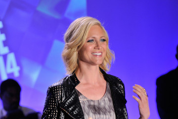 Brittany Snow NYFW: Front Row at Just Dance