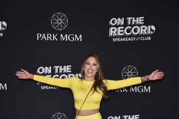 Brittney Palmer On The Record Speakeasy And Club Red Carpet Grand Opening Celebration At Park MGM