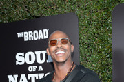 Mehcad Brooks attends The Broad Museum celebration for the opening of Soul Of A Nation: Art in the Age of Black Power 1963-1983 Art Exhibition at The Broad on March 22, 2019 in Los Angeles, California.
