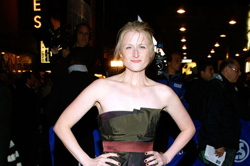 "Mamie Gummer Broadway Opening After Party Of ""Enron"""
