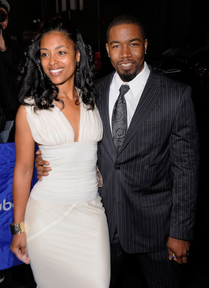 "Dr. Courtenay Chatman and actor Michael Jai White attend the Broadway Opening of ""Fences"" at the Cort Theatre on April 26, 2010 in New York City."