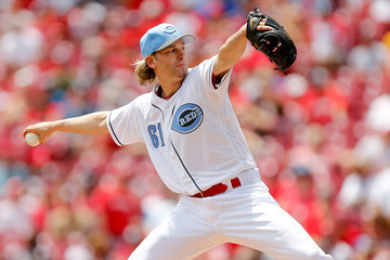 Bronson Arroyo Los Angeles Dodgers v Cincinnati Reds