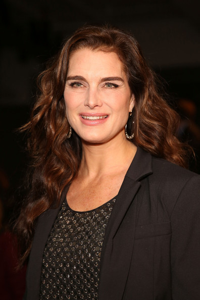 Brooke Shields Attends The Kenneth Cole Collection Fall