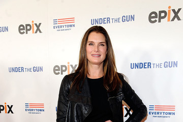 Brooke Shields The New York Premiere Of EPIX's 'Under the Gun' - Arrivals