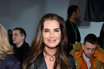 Brooke Shields Calvin Klein Collection - Front Row - February 2017 - New York Fashion Week