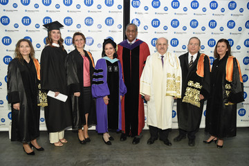 Brooke Shields Brooke Shields, Randy Fenoli And Daniel Libeskind Honored at FIT Commencement