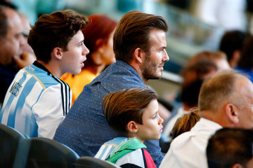 Brooklyn Beckham Germany v Argentina