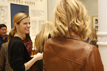 Brooklyn Decker Brooklyn Decker Hosts Finery Styling Event At Kendra Scott SoHo