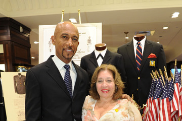Maurice Williams Brooks Brothers Event Honoring Dignity U Wear & Suits For Soldiers With Maidenform