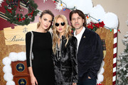 (L-R) Actress Elizabeth Chambers, fashion designer Rachel Zoe, and producer Rodger Berman attend Brooks Brothers Host Annual Holiday Celebration in Los Angeles to Benefit St. Jude at the Beverly Wilshire Four Seasons Hotel on December 09, 2018 in Beverly Hills, California.
