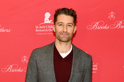 Matthew Morrison attends the Brooks Brothers And St Jude Children's Research Hospital Annual Holiday Celebration In New York City on December 18, 2018 in New York City.