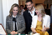 """(L-R) TV personality Keltie Knight, actors Jesse Metcalfe and Becca Tobin attend """"Le Casino"""" night hosted by Brooks Brothers in Beverly Hills to benefit UCLA Jonsson Cancer Center Foundation on January 25, 2017 in Beverly Hills, California."""