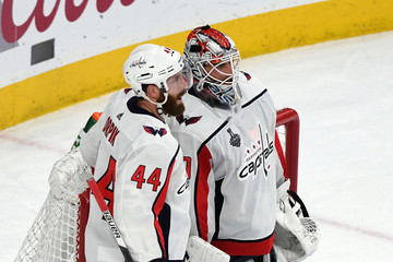 Brooks Orpik Braden Holtby 2018 NHL Stanley Cup Final - Game Five