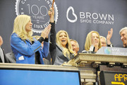 Fergie Rings the NYSE Closing Bell