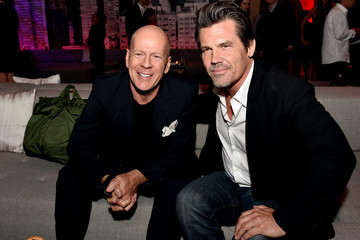 Bruce Willis Sin City: A Dame to Kill For' Afterparty