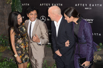 Bruce Willis M. Night Shyamalan 'After Earth' Premieres in NYC — Part 2
