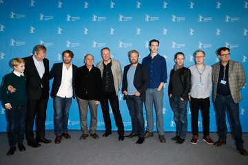 Bruno Ganz Jakob Oftebro 'In Order of Disappearance' Photocall - 64th Berlinale International Film Festival