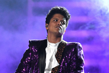 Bruno Mars The 59th GRAMMY Awards - Show