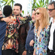 """Bruno Podalydes """"Cette Musique Ne Joue Pour Personne (This Music Doesn't Play For Anyone)"""" Photocall - The 74th Annual Cannes Film Festival"""