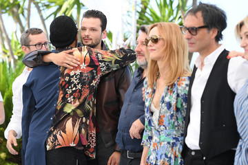 """Bruno Podalydes Julien Madon """"Cette Musique Ne Joue Pour Personne (This Music Doesn't Play For Anyone)"""" Photocall - The 74th Annual Cannes Film Festival"""