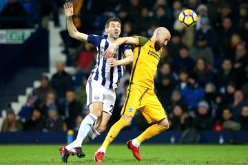 Bruno Saltor West Bromwich Albion v Brighton and Hove Albion - Premier League