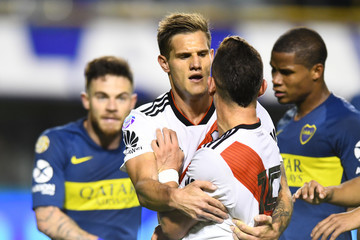 Bruno Zuculini Boca Juniors vs. River Plate - Superliga 2018/19