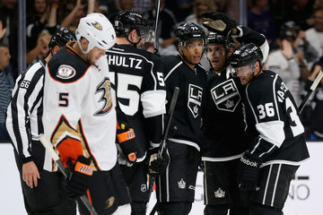 Bryan Allen Anaheim Ducks v Los Angeles Kings