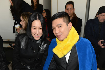 Bryan Boy Front Row at the Michael Kors Show