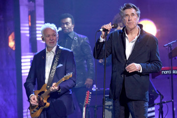 Bryan Ferry Phil Manzanera 2019 Rock And Roll Hall Of Fame Induction Ceremony - Show