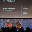 Bryan Fuller PaleyLive LA Presents An Evening With Kristin Chenoweth: In Conversation - Inside